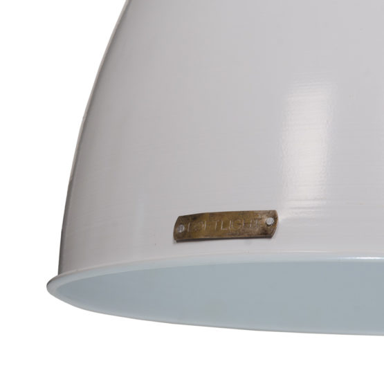 Voltera 46 cm - Shine White / Dark Nickel - LOFTLIGHT