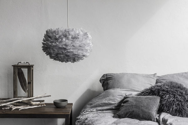 Lampa wisząca Eos Medium Light Grey UMAGE (VITA Copenhagen)