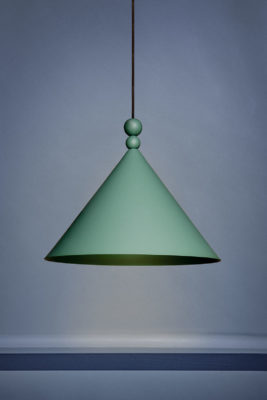 Lampa Konko 45 - Hedge Green - kolor zielony