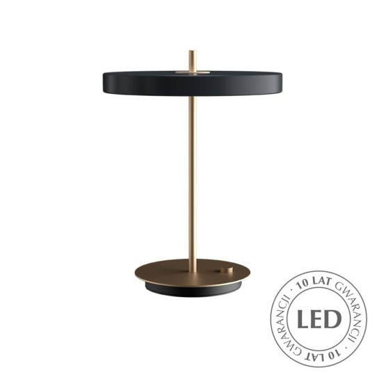 Lampa Asteria Table anthracite UMAGE - antracytowa szarość /Kolor: Antracytowy/